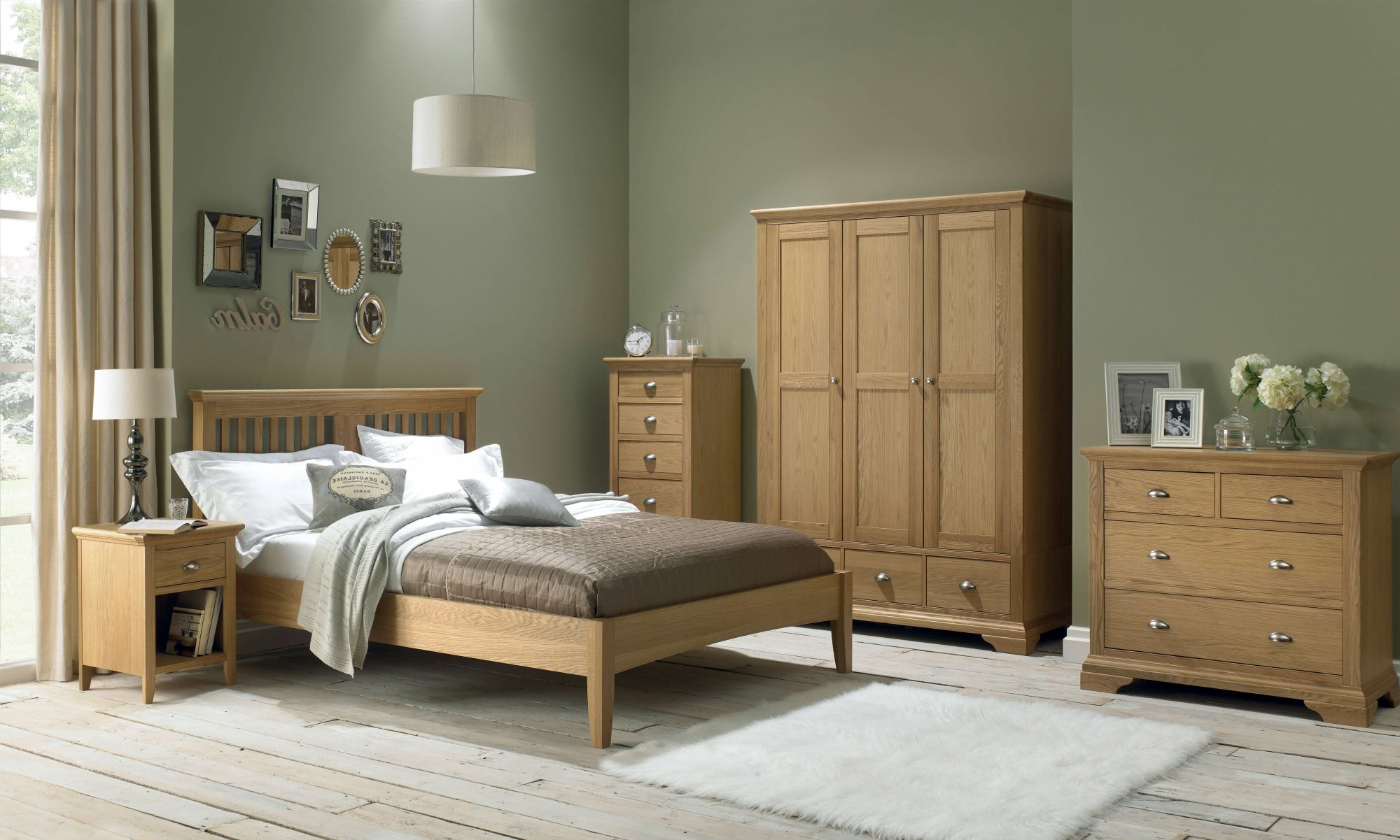 KYRA BEDSIDE NIGHTSTAND BEDROOM SETTING