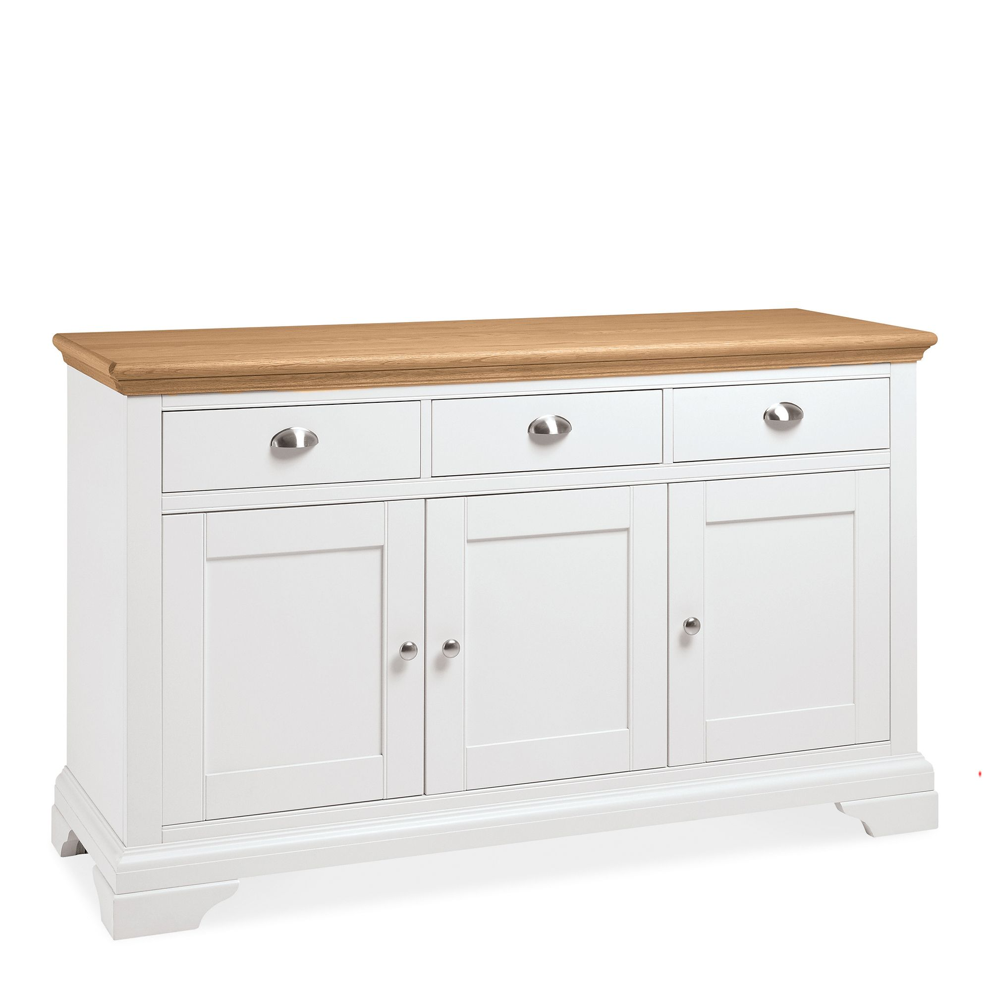 KYRA TWO TONE WIDE SIDEBOARD - L148cm x D48cm x H88cm