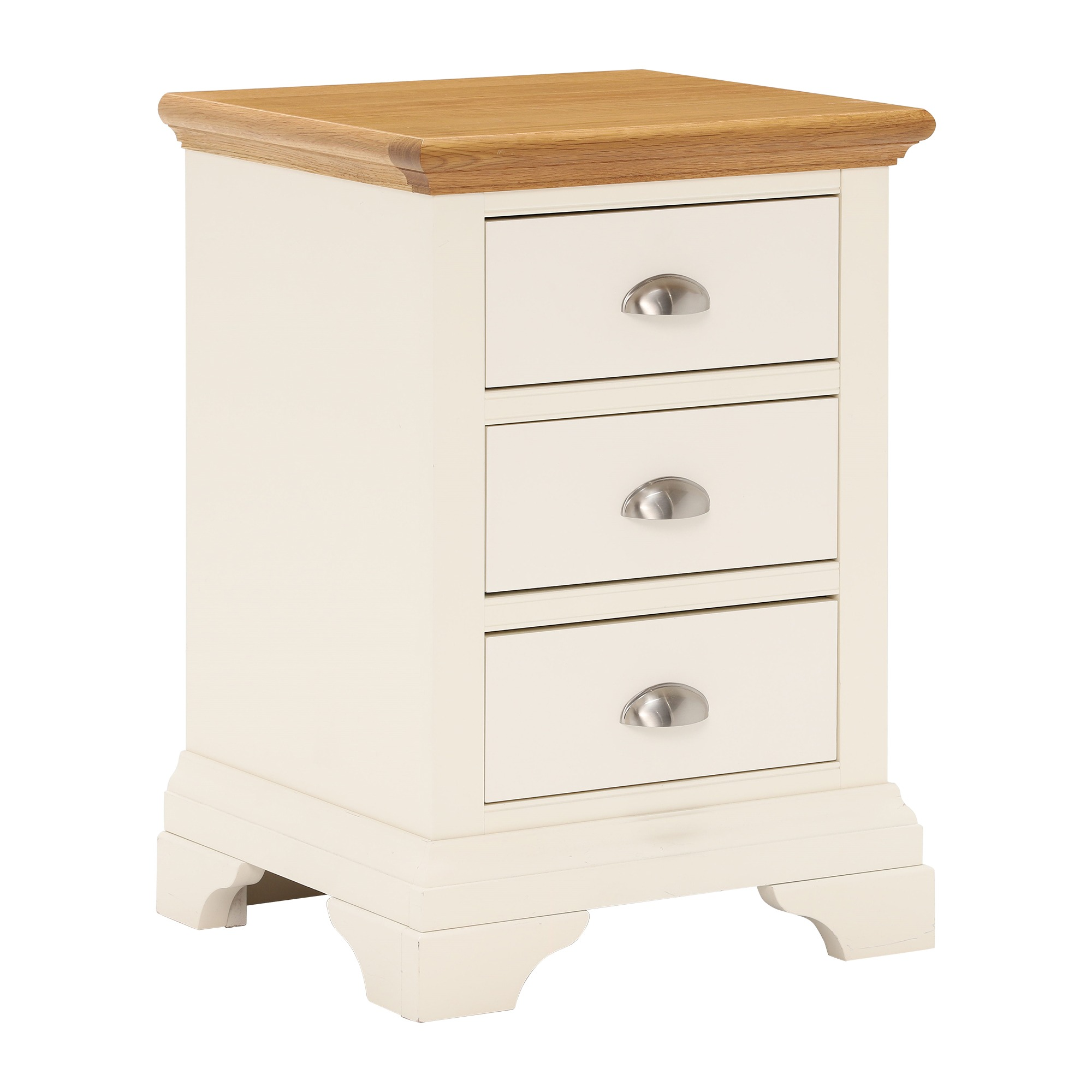 KYRA TWOTONE 3DR BEDSIDE - ANGLE DETAIL