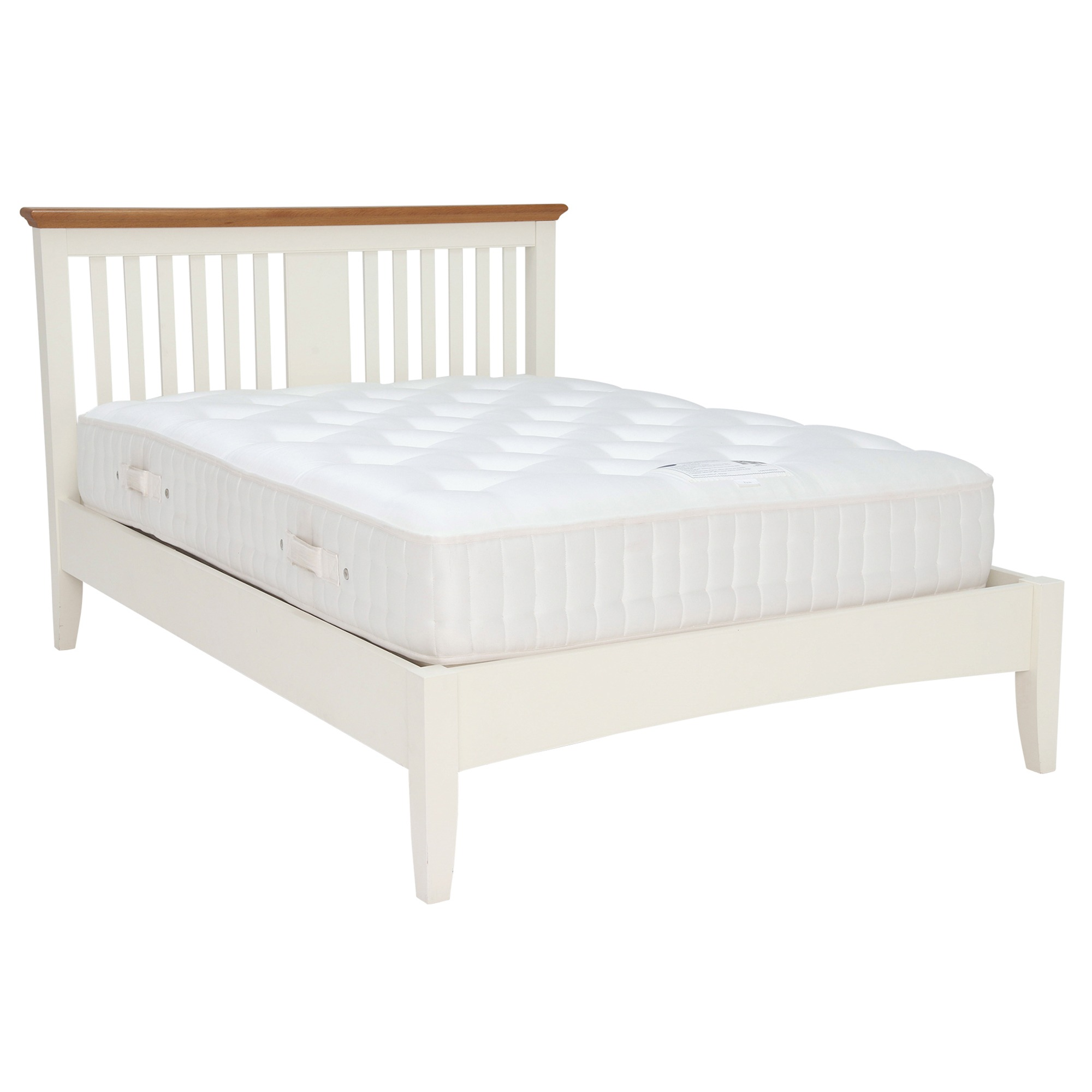 KYRA TWOTONE BEDFRAME - WITH MATTRESS