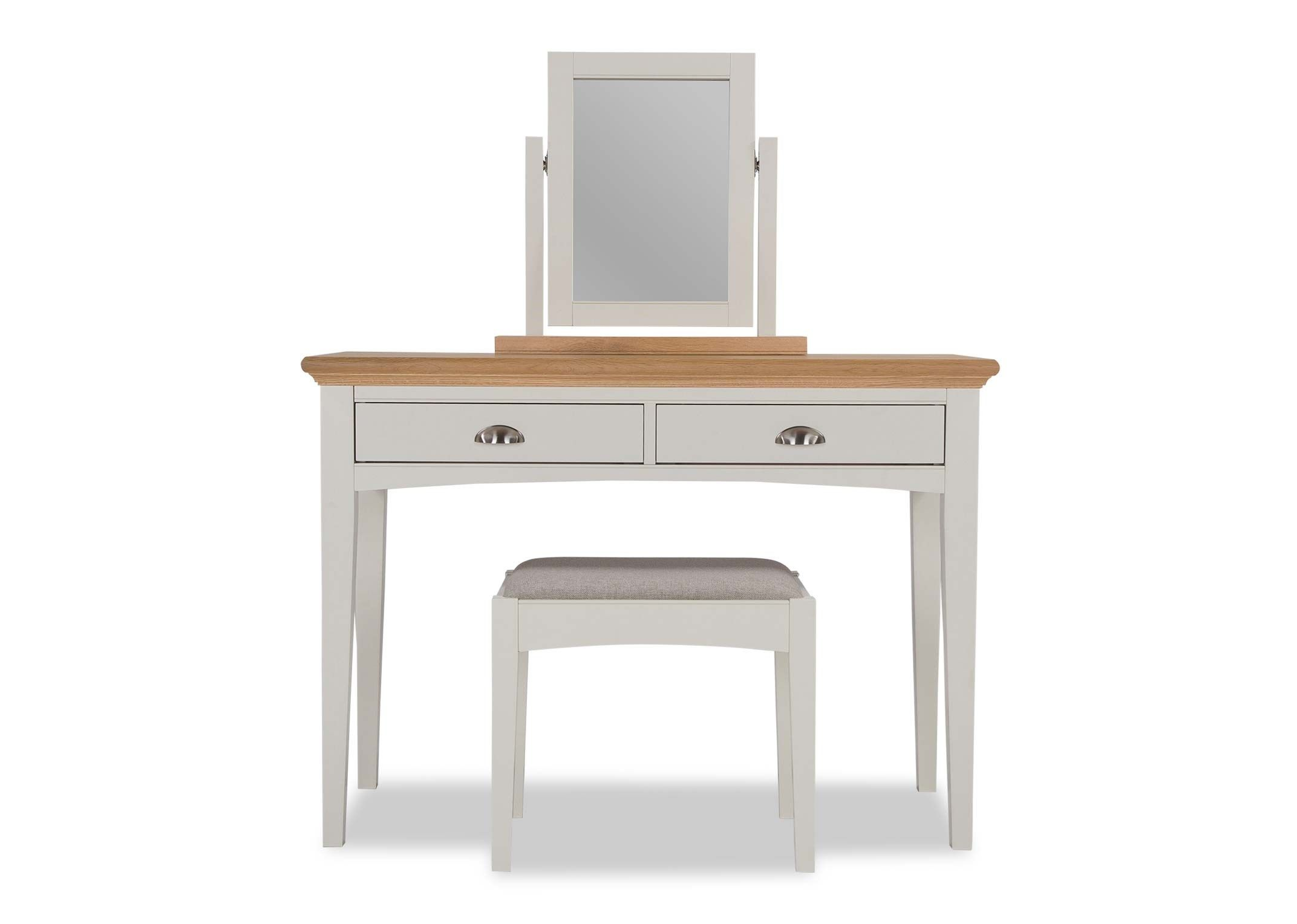 KYRA TWOTONE DRESSING TABLE - FRONT VIEW