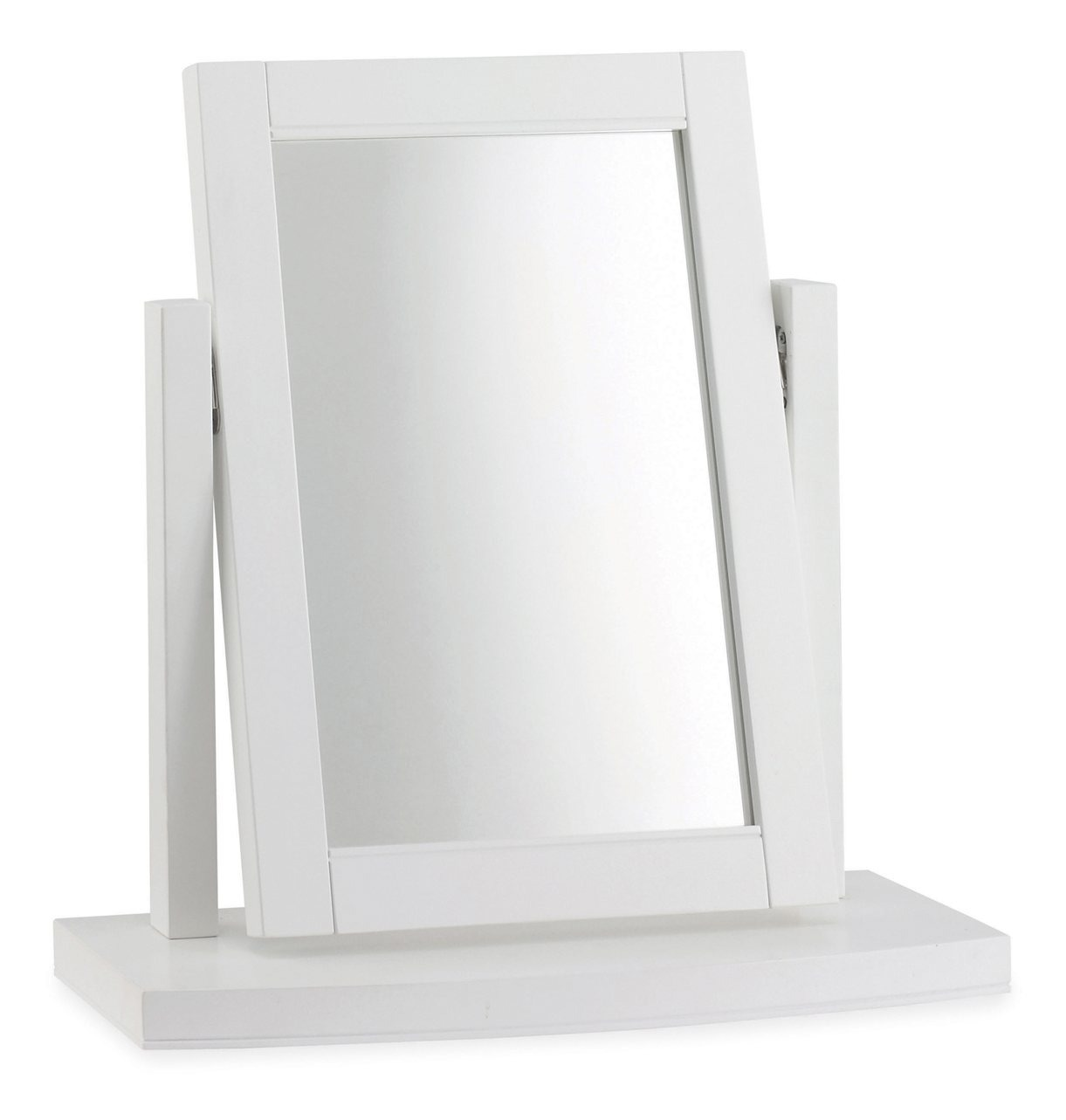 KYRA WHITE BEDROOM MIRROR - L54cm x D18cm x H52cm