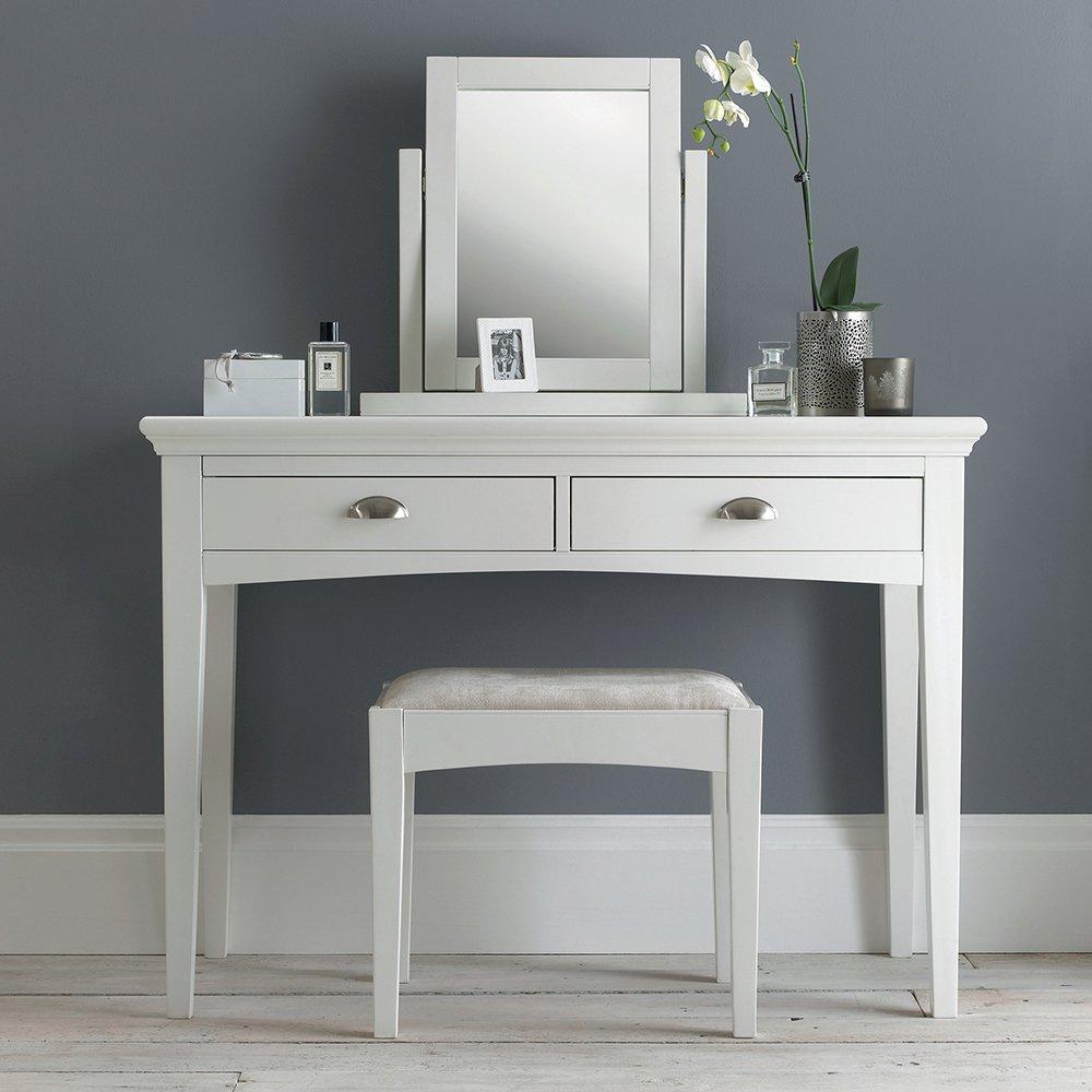 KYRA WHITE DRESSING TABLE L110cm x D48cm H79cm