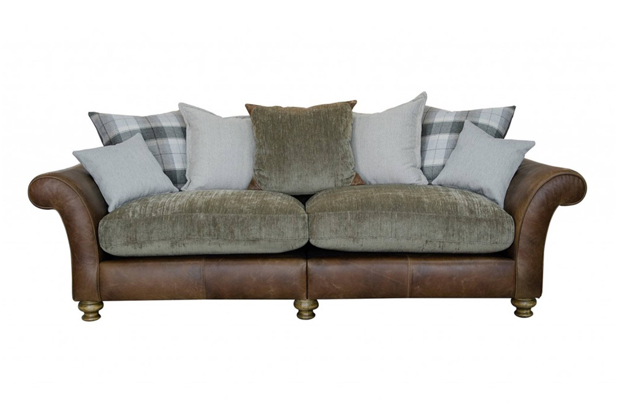 LAWRENCE-4 SEATER PILLOW BACK