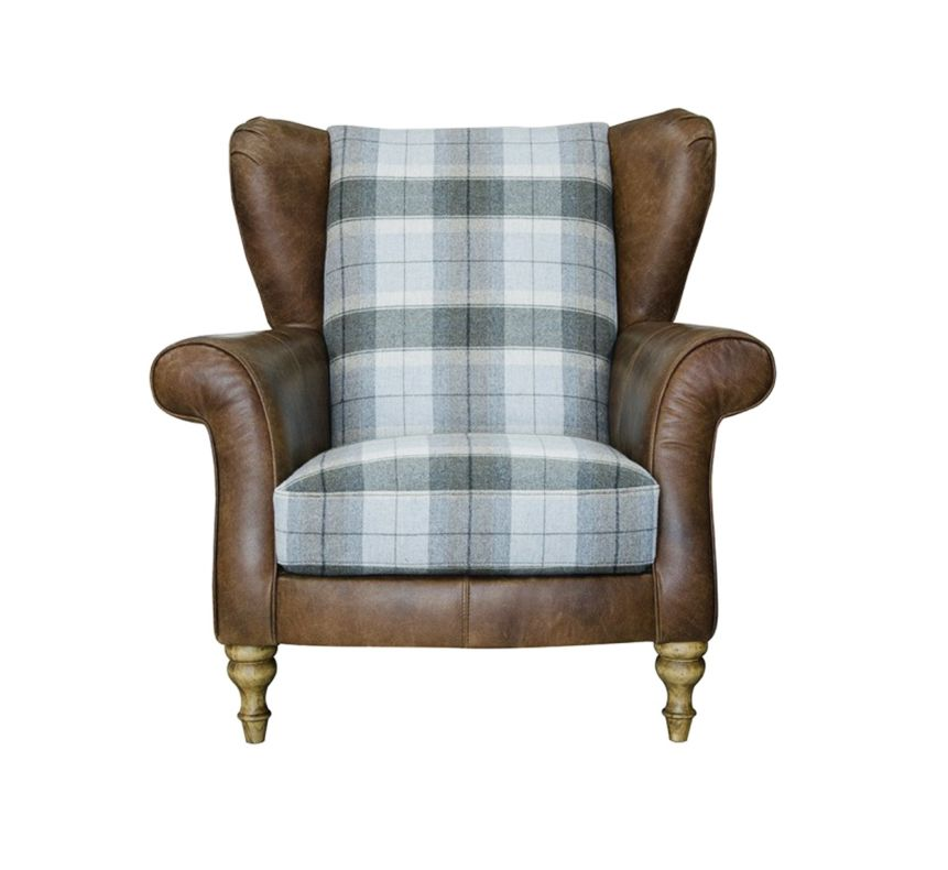 LAWRENCE WING CHAIR - FRONT DETAIL