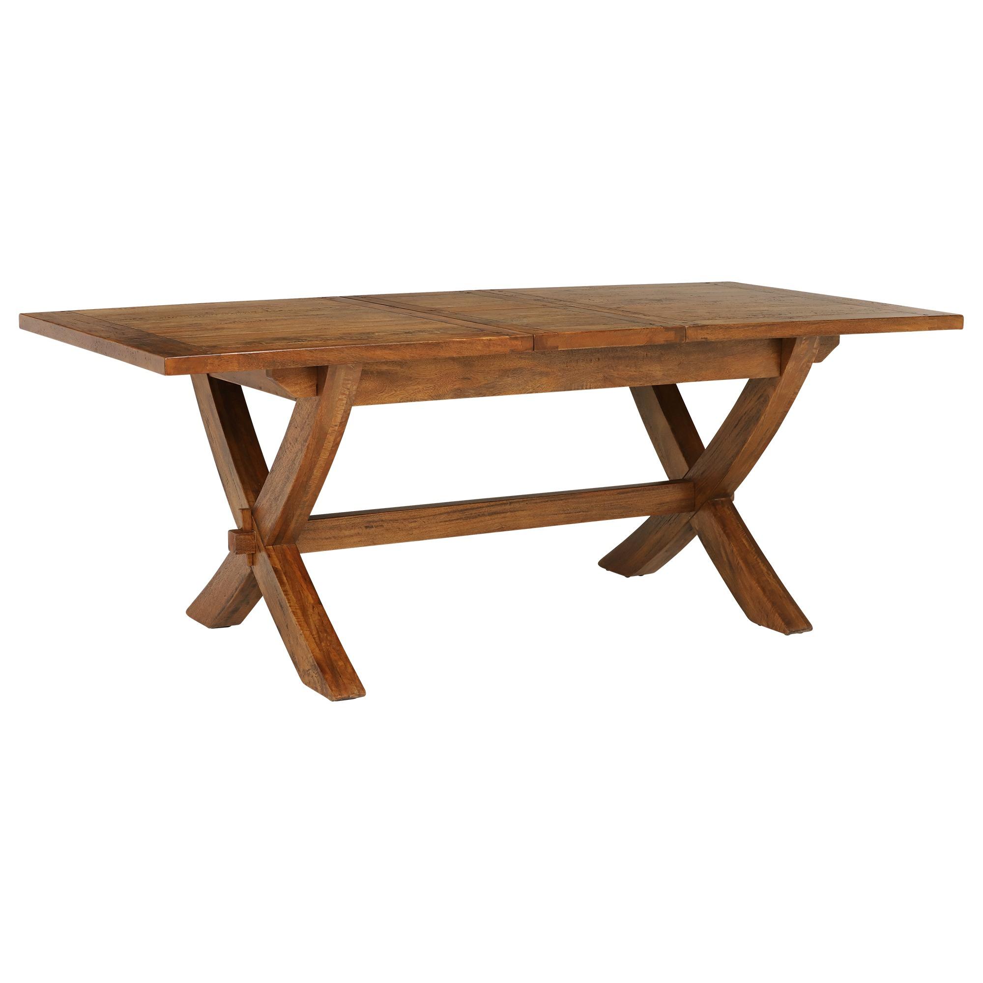 MANGO DINING TABLE - EXTENDED - L210cm x D100cm x H78.5cm