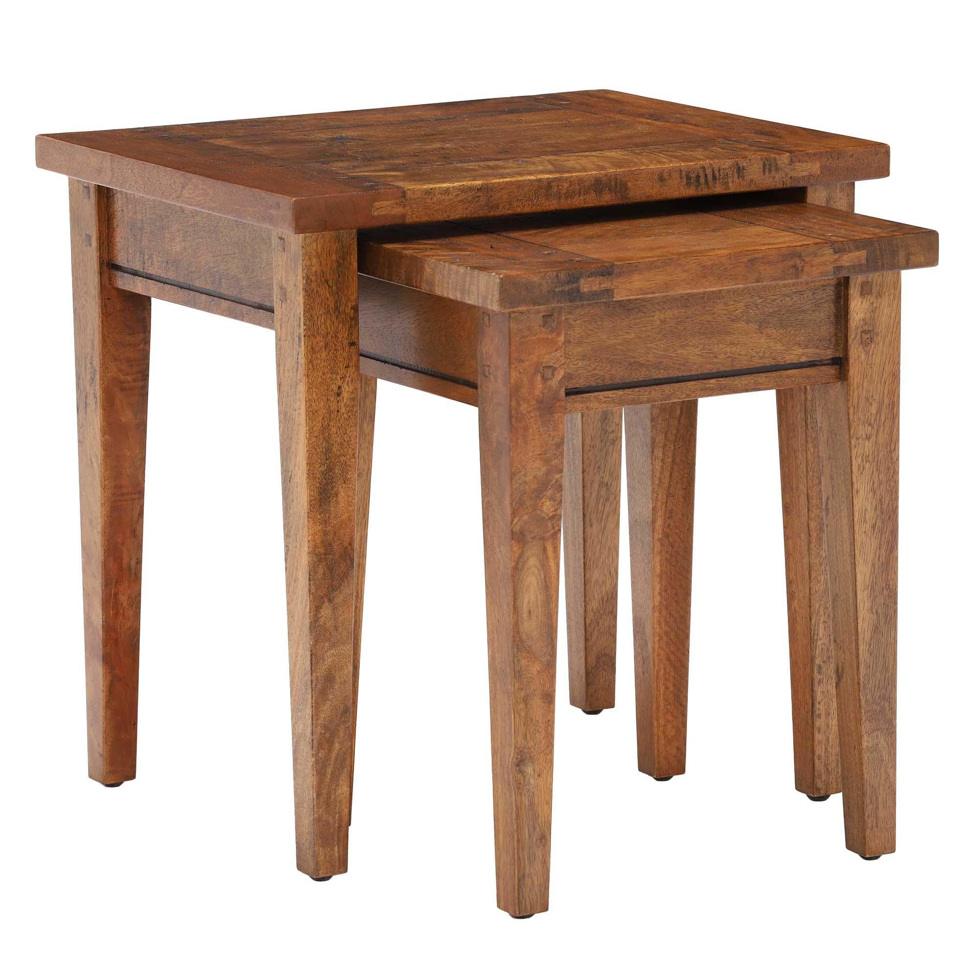 MANGO NEST OF TABLES..