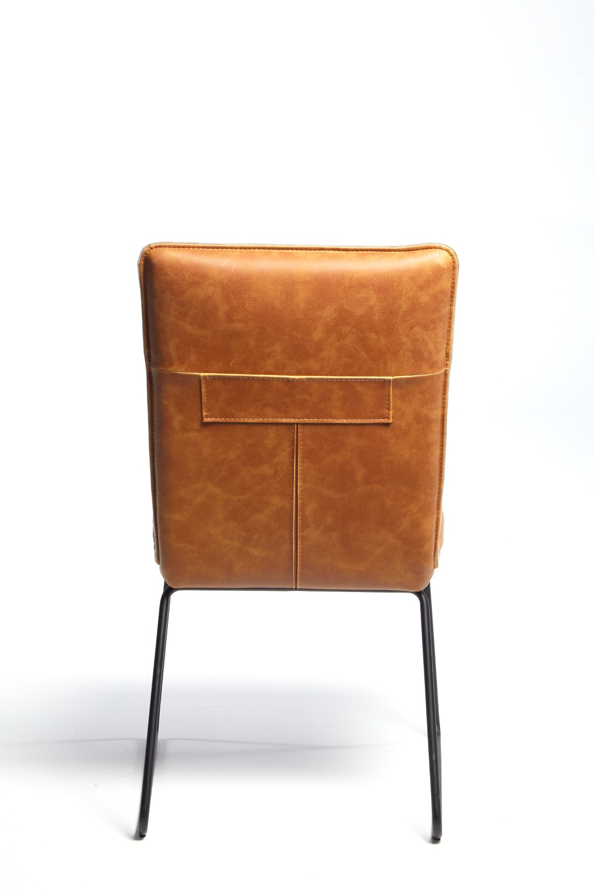 METRO TAN DINING CHAIR - BACK DETAIL