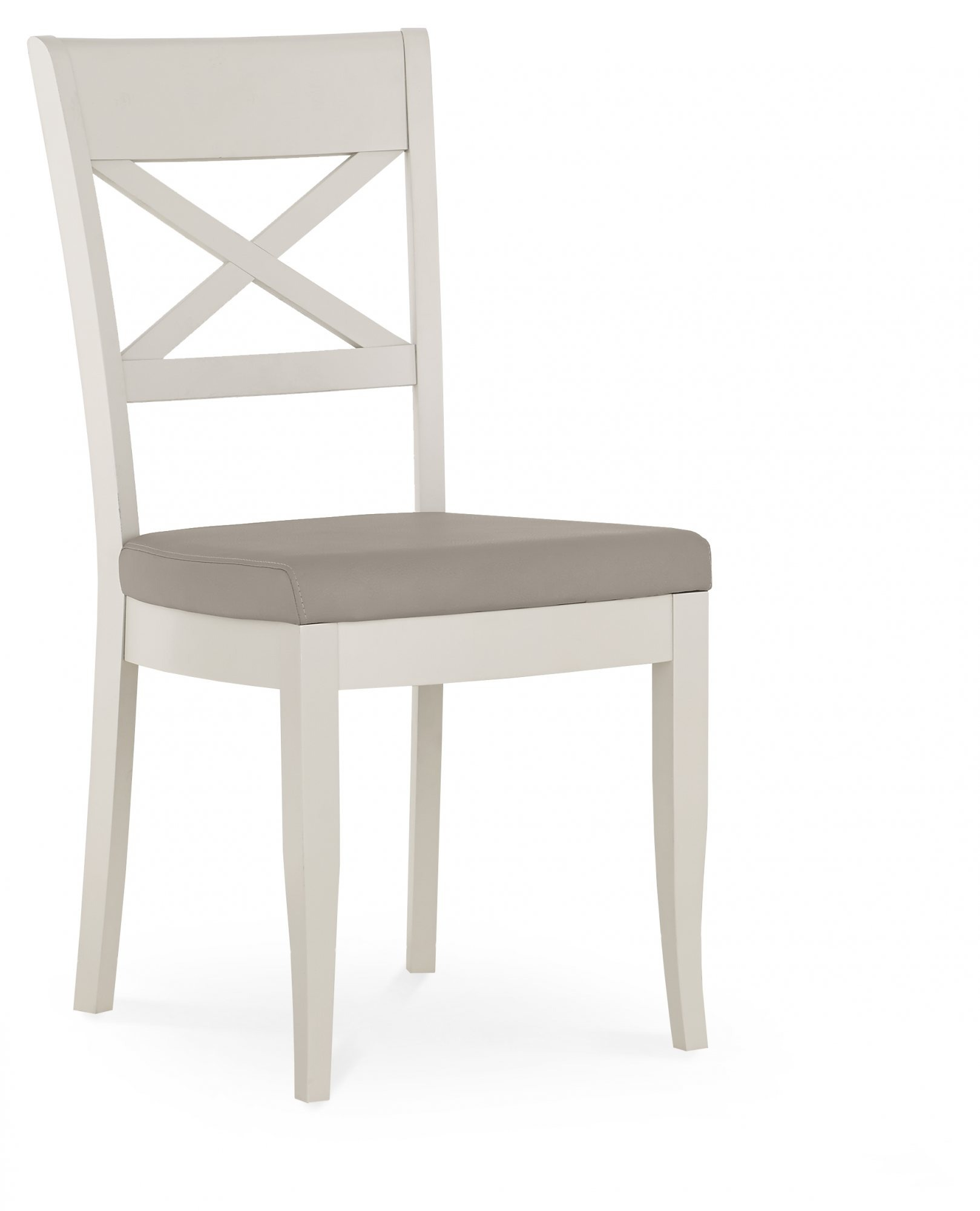 MONICA GREY DINING CHAIR - ANGLE DETAIL