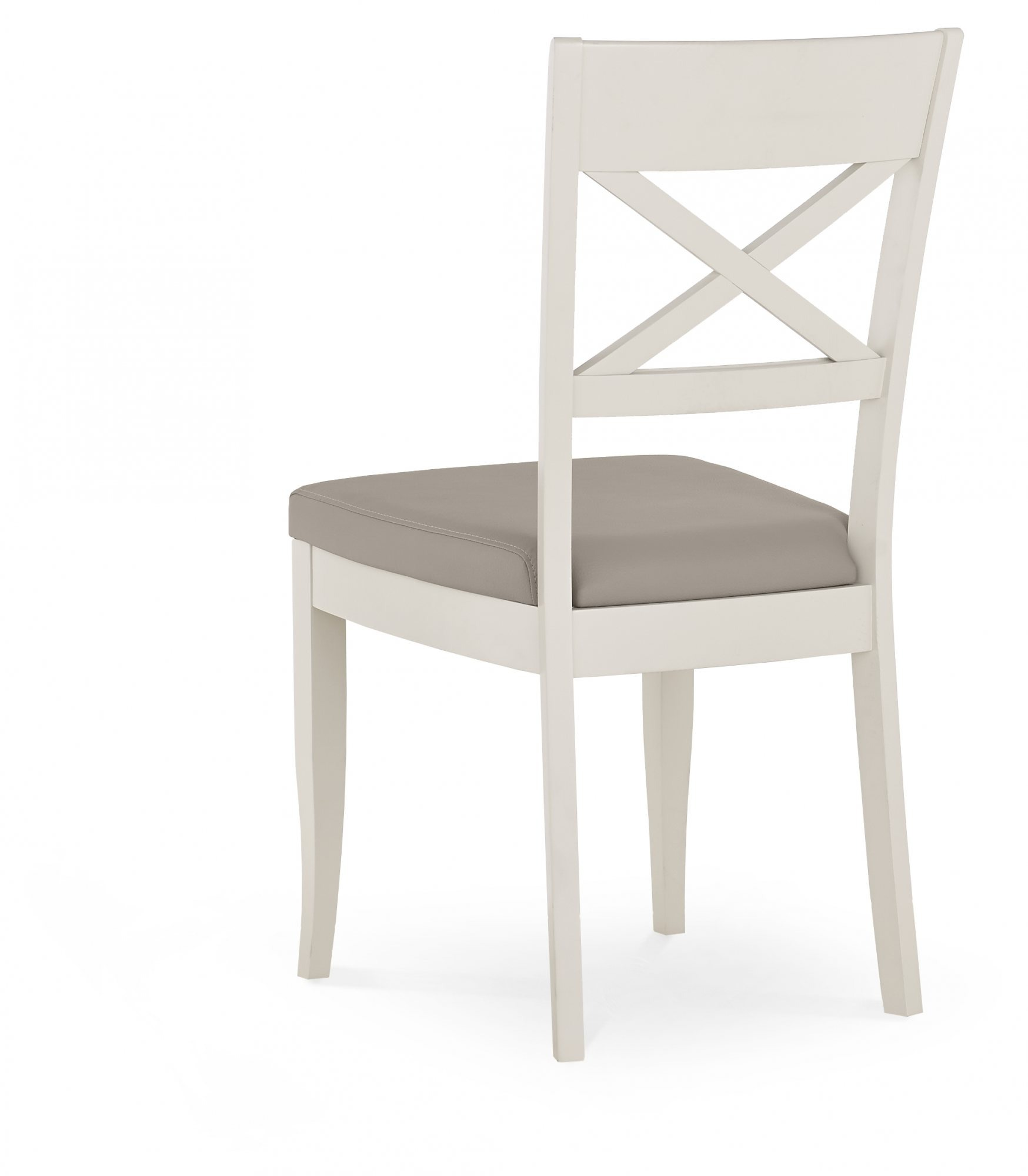 MONICA GREY DINING CHAIR - BACK DETAIL
