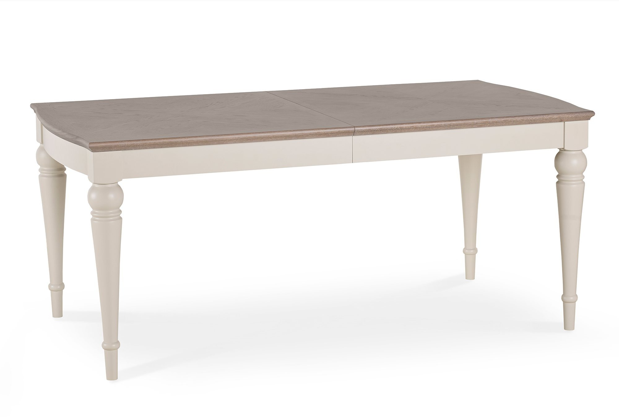 MONICA GREY DINING TABLE CLOSED - L180cm x D95cm x H77cm