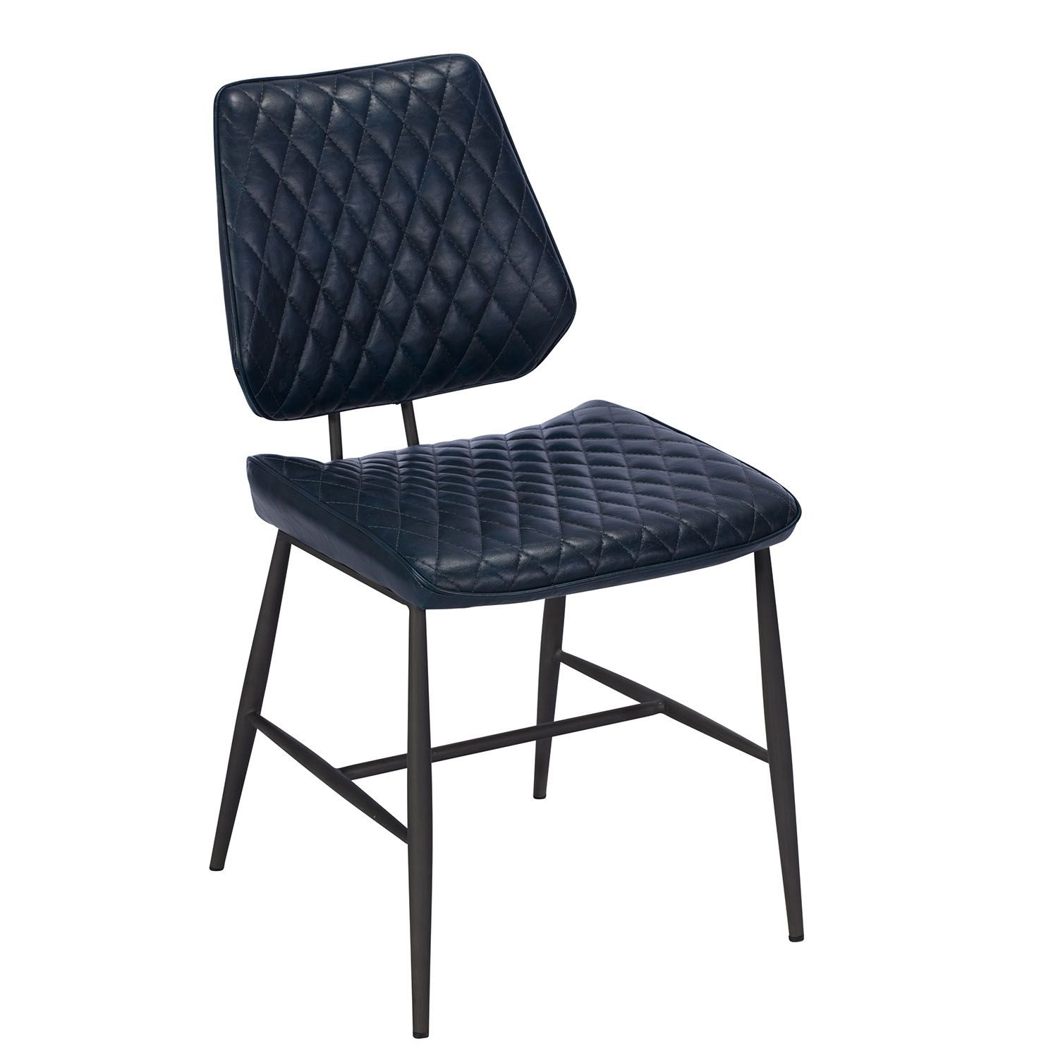 NEMOX BLUE DINING CHAIR – L45.5cm x D59cm x H87cm
