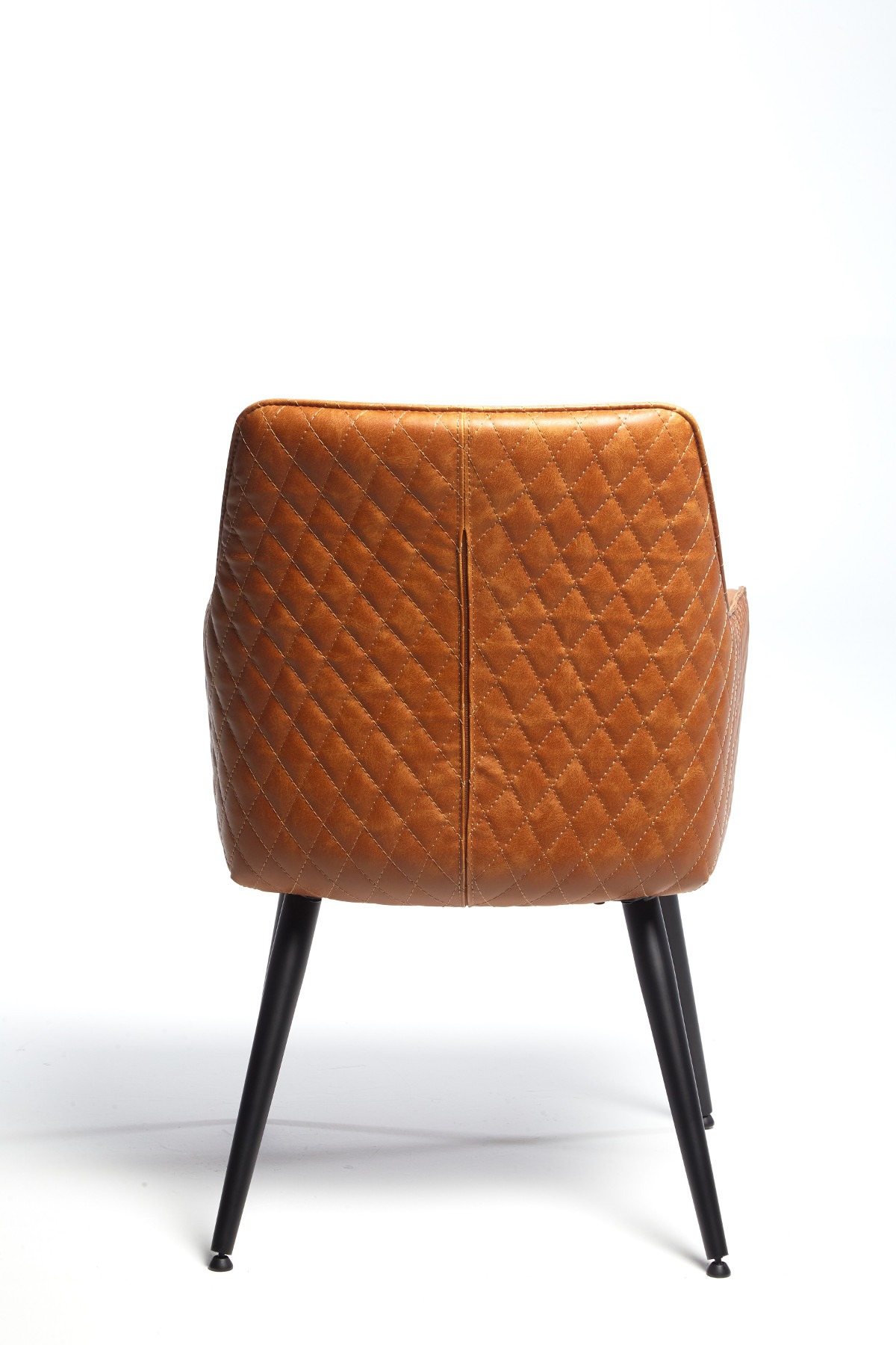 ORLANDO TAN ARM CHAIR BACK DETAIL