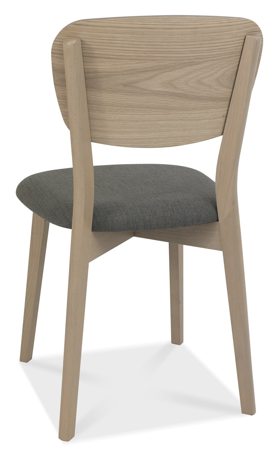 RETRO WOODEN DINING CHAIR - BACK DETAIL