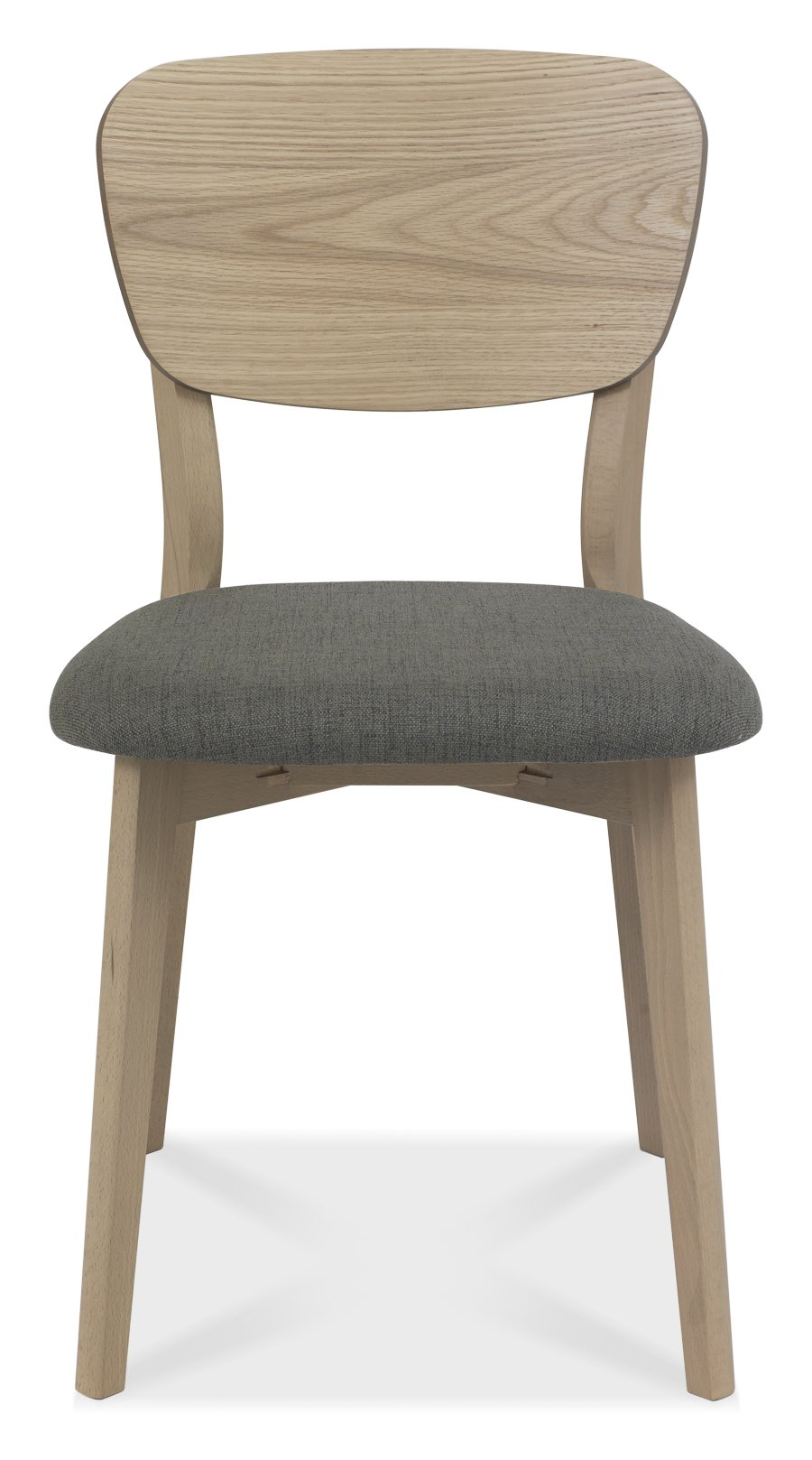 RETRO WOODEN DINING CHAIR - FRONT DETAIL