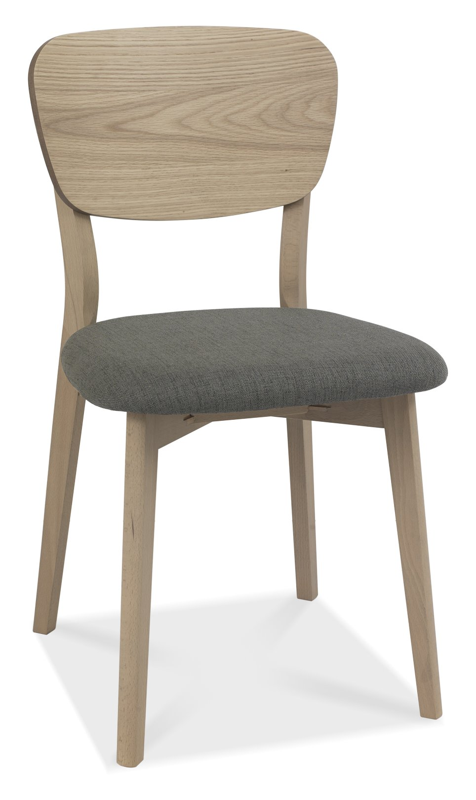 RETRO WOODEN DINING CHAIR. - ANGLE DETAIL