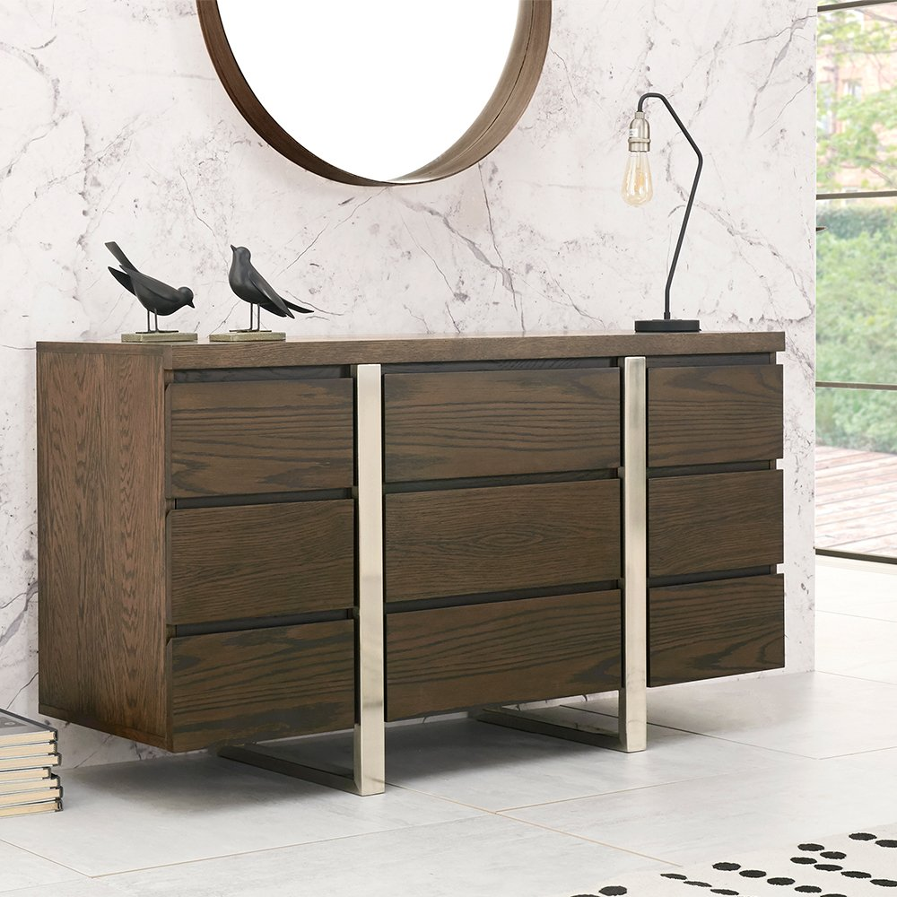 SIDEBOARD ANGLE VIEW