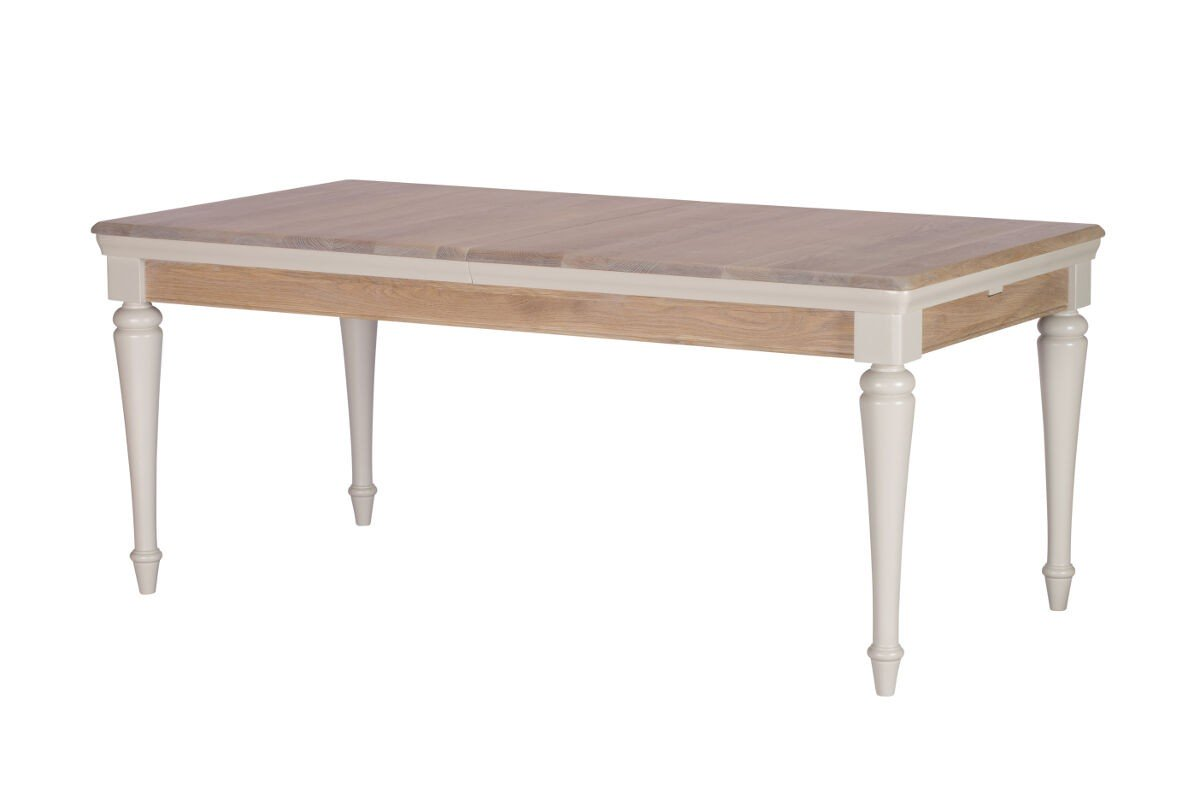 TONI GREY LARGE EXTENDING DINING TABLE (CLOSED)- L180cm x D90cm x H78.8cm