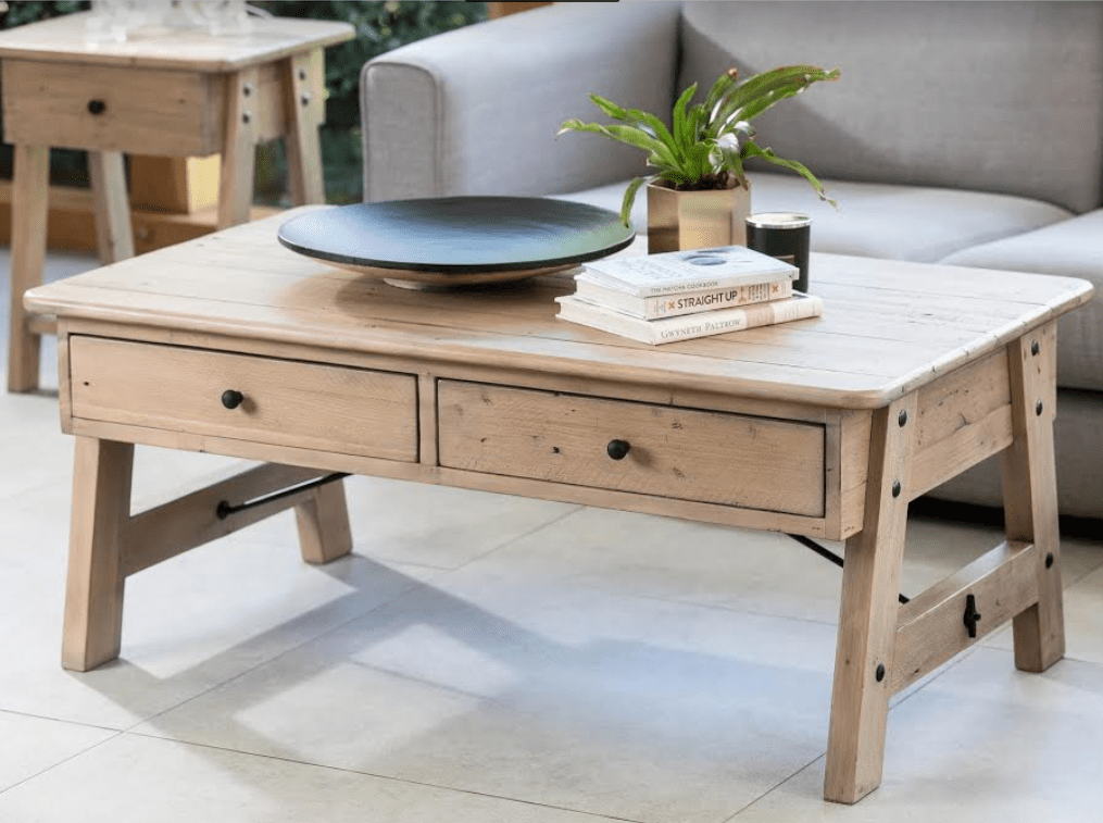TUSCAN COFFEE TABLE - L127cm x D81cm x H50cm