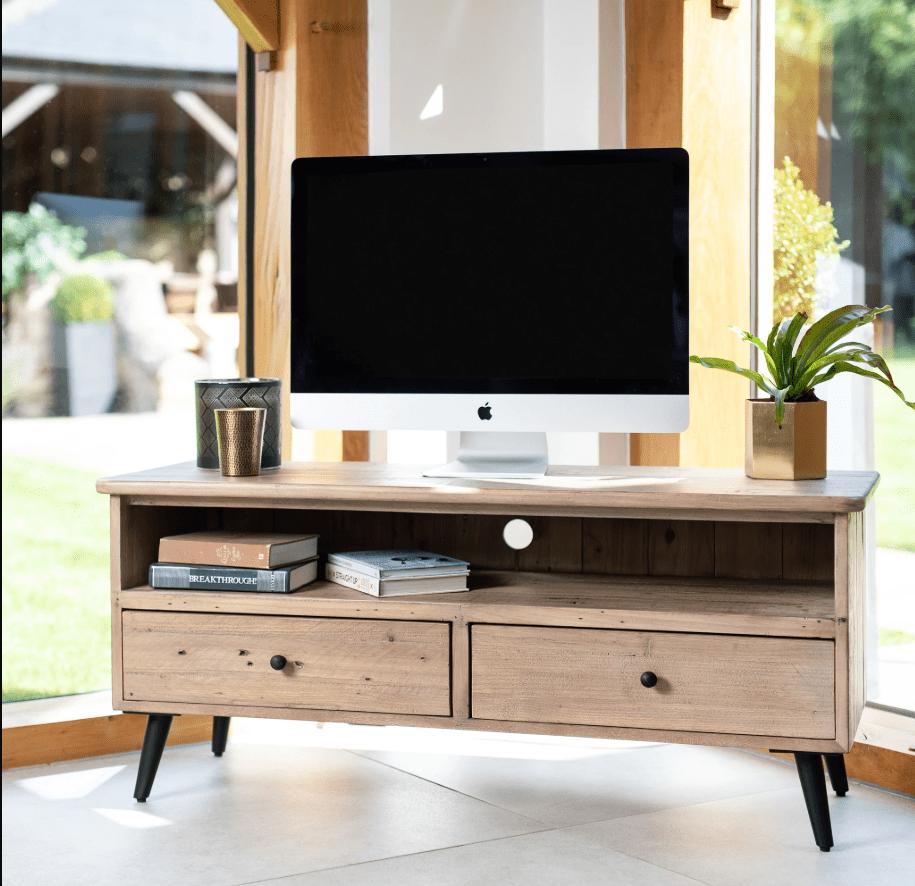 TUSCAN TV UNIT - L120cm x 42cm x H53cm