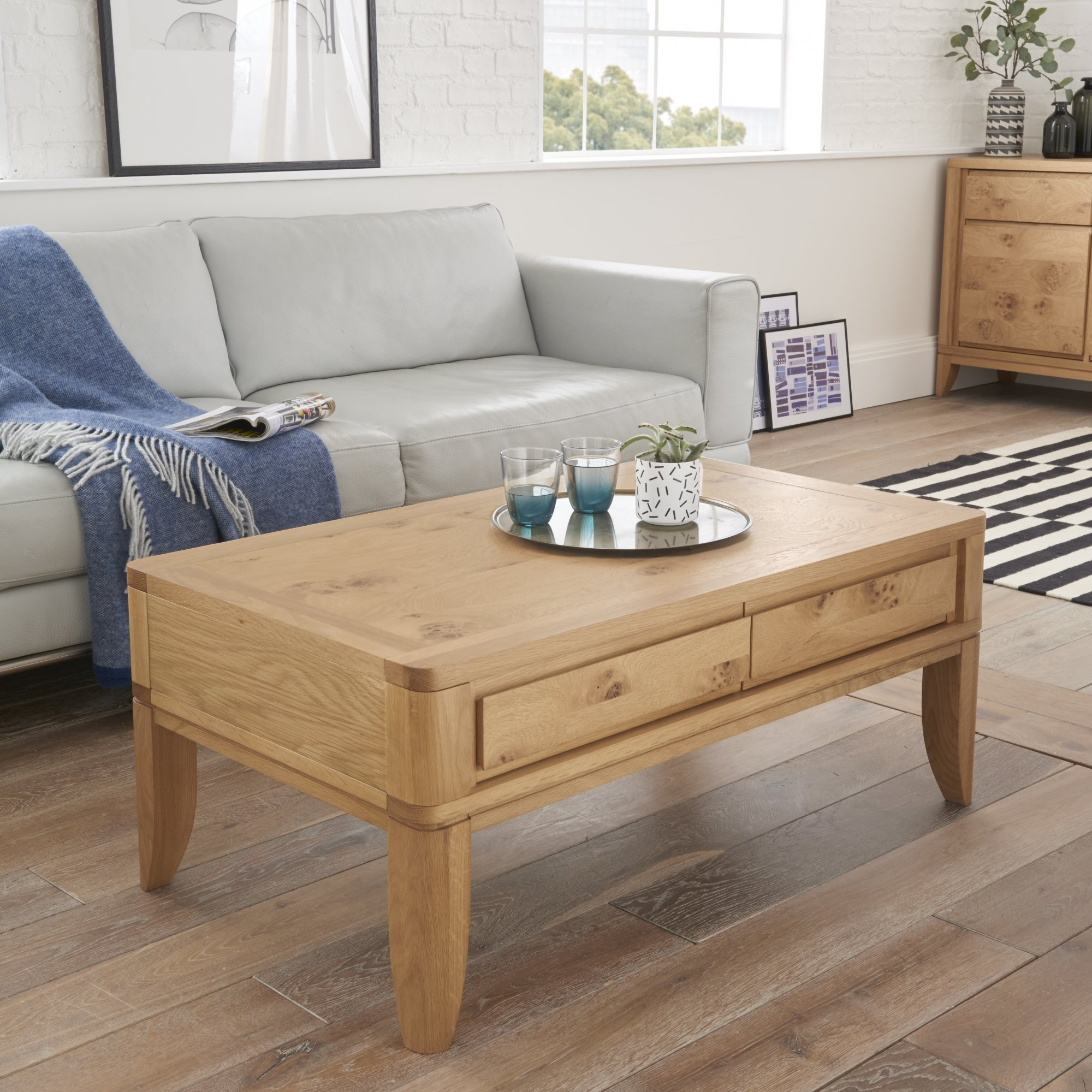 WILLOW PARK COFFEE TABLE L105cm x D60cm x H43cm