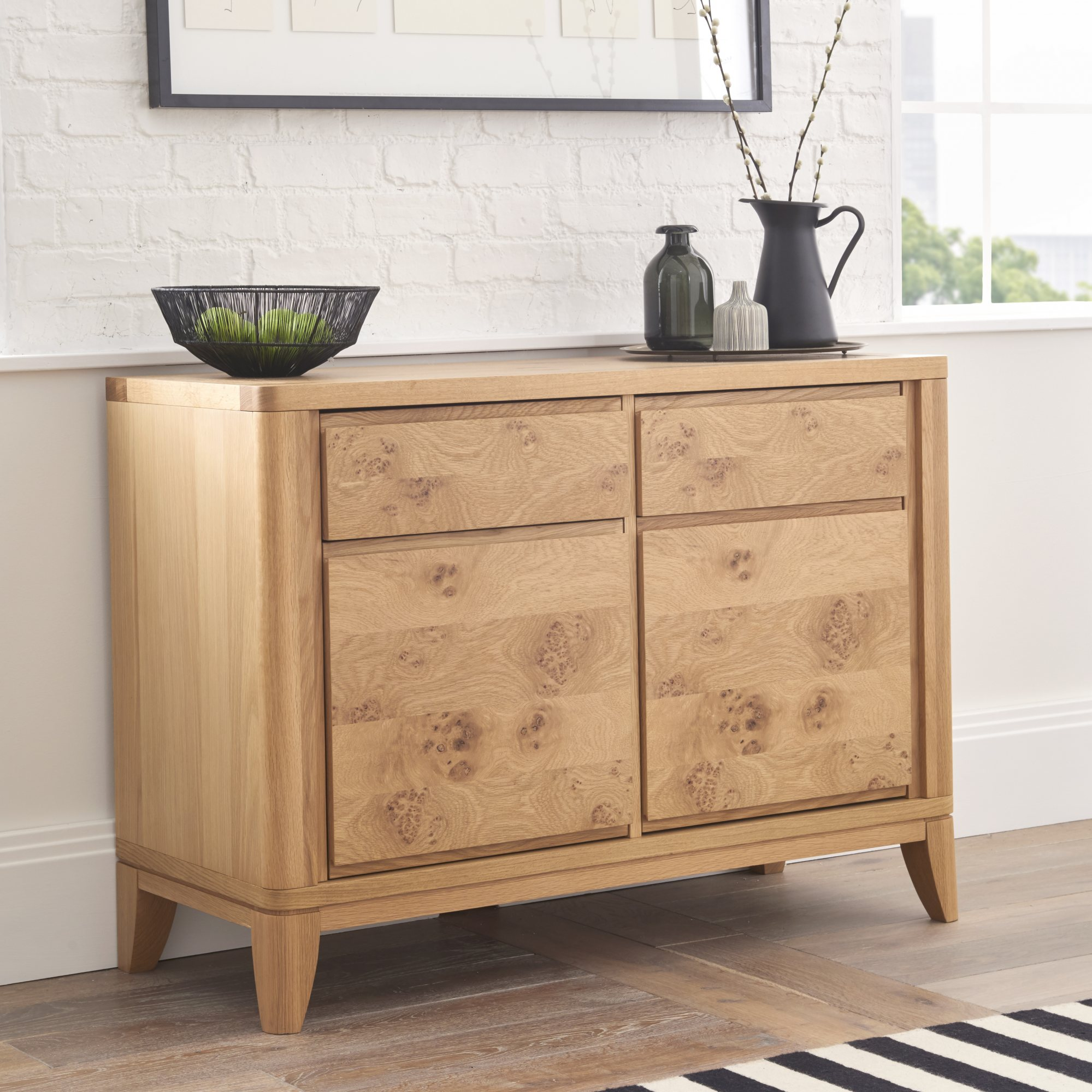 WILLOW PARK NARROW SIDEBOARD - L110cm x D45cm x H80cm