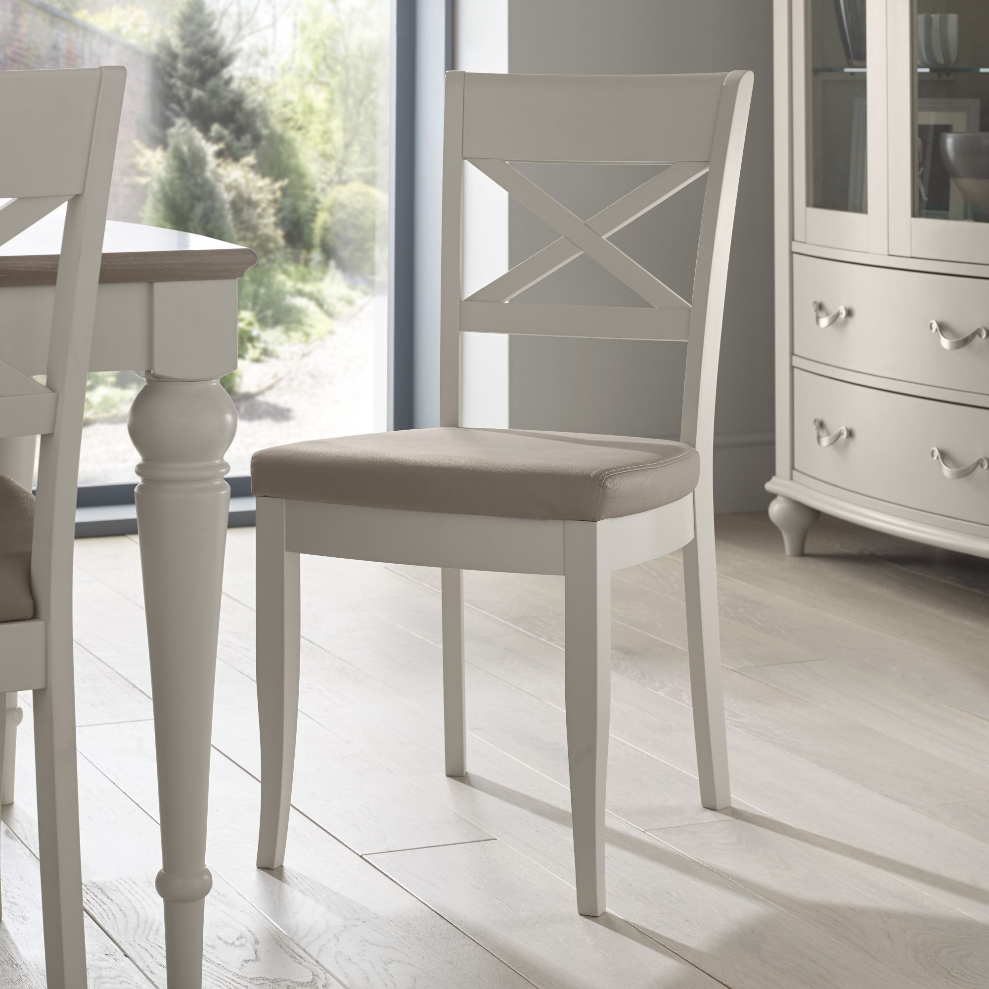 MONICA X-BACK DINING CHAIR