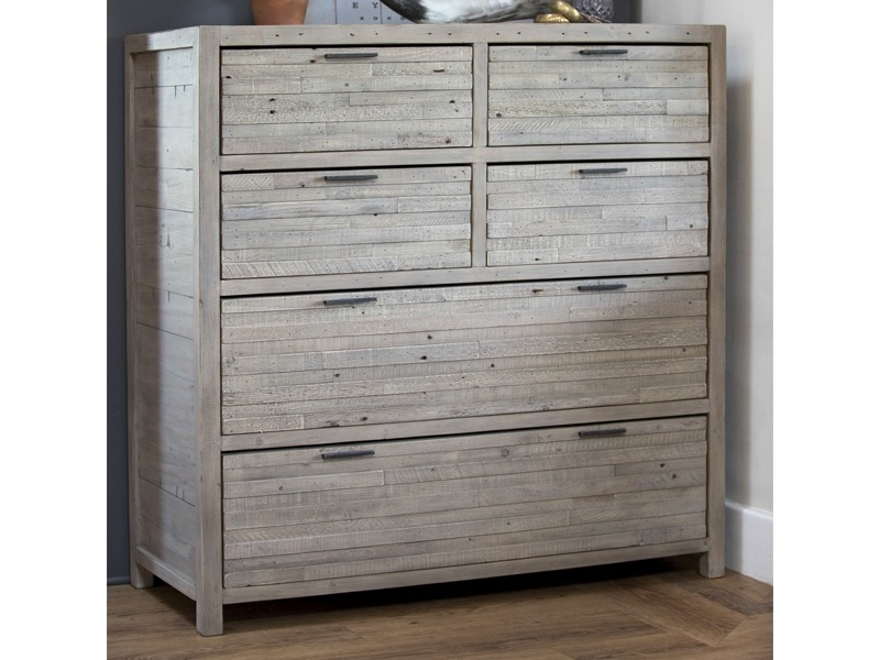 ALAMO TALL CHEST - L110cm x D45cm x H114cm