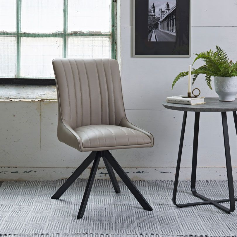 CAMMIE TAUPE CHAIR