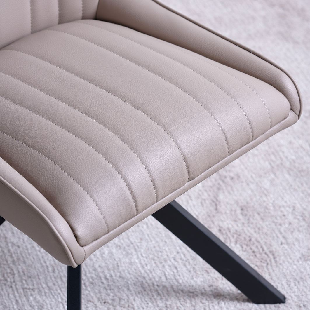 CAMMIE TAUPE - SEAT DETAIL