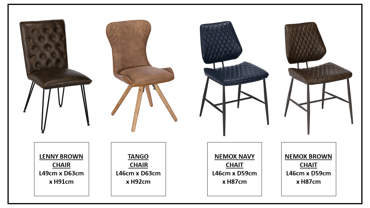 CHAIR OPTIONS 1