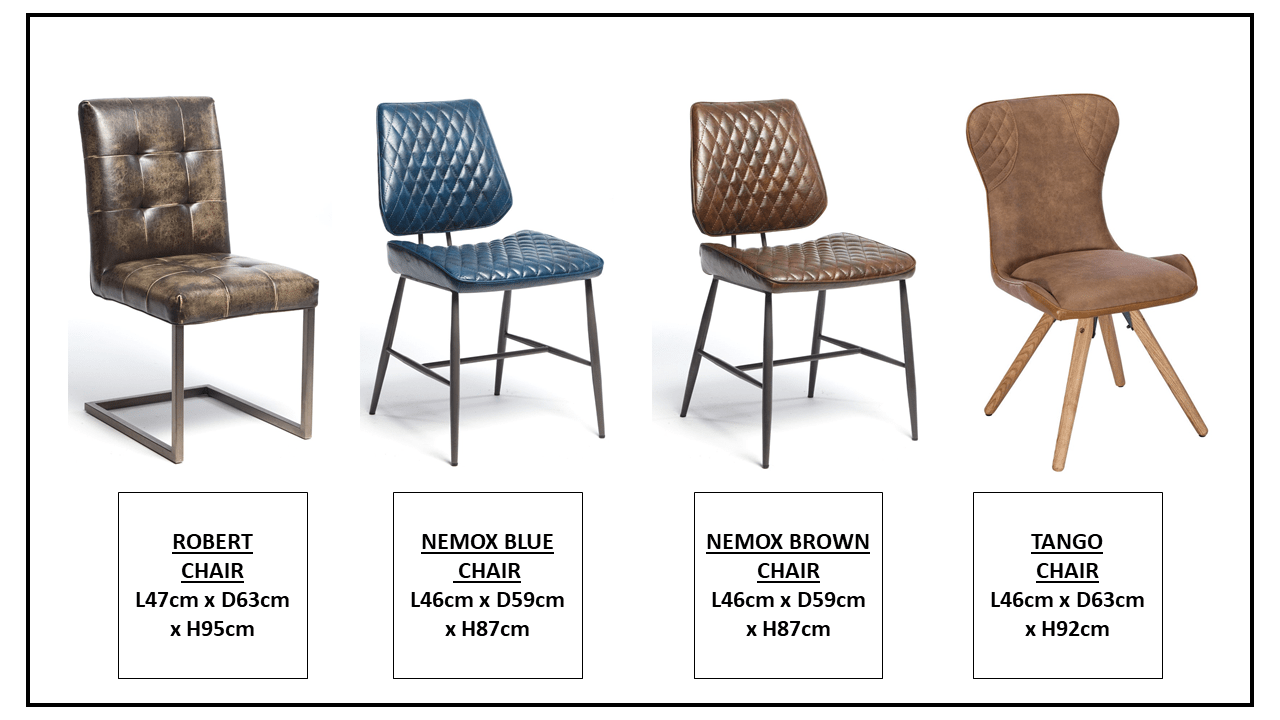 CHAIR OPTIONS....