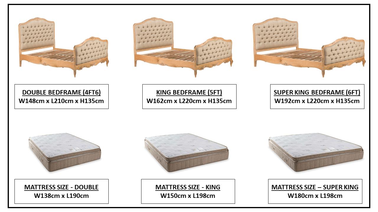 CLAREMONT BED FRAME OPTIONS
