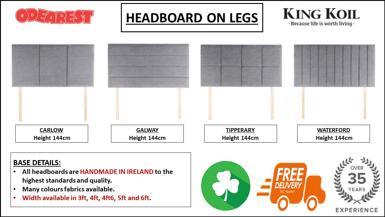 HEADBOARD ON LEGS