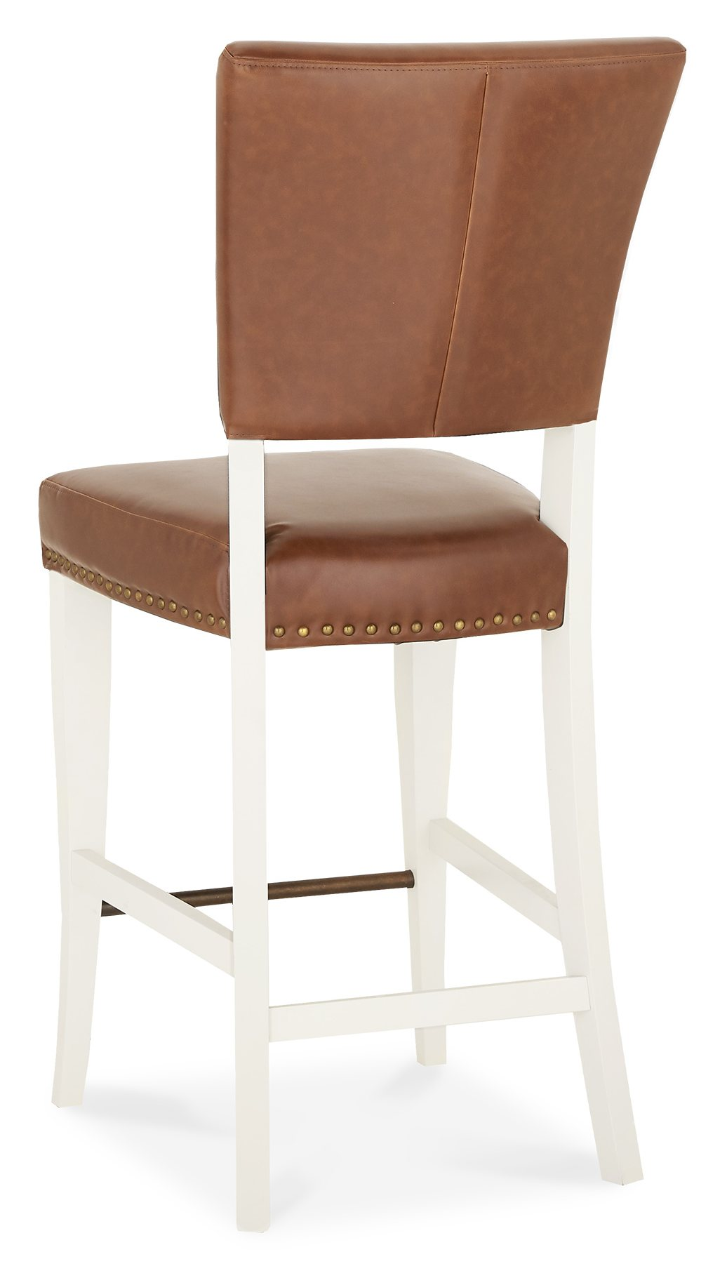 HIGHLAND IVORY STOOL - BACK DETAIL
