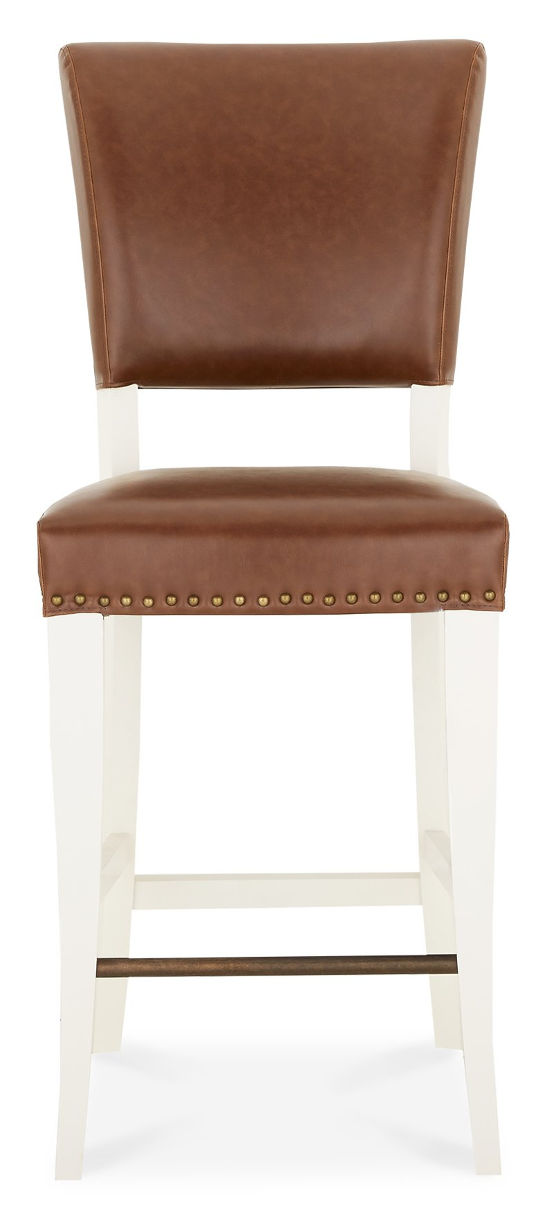 HIGHLAND IVORY STOOL - FRONT DETAIL
