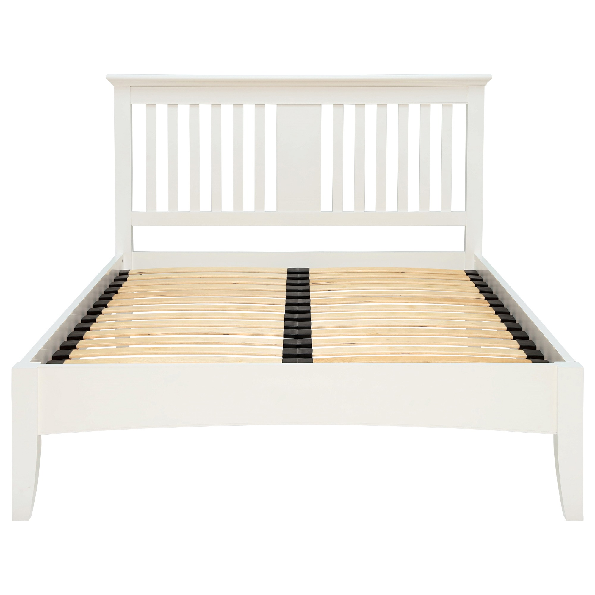 KYRA WHITE BEDFRAME - END DETAIL