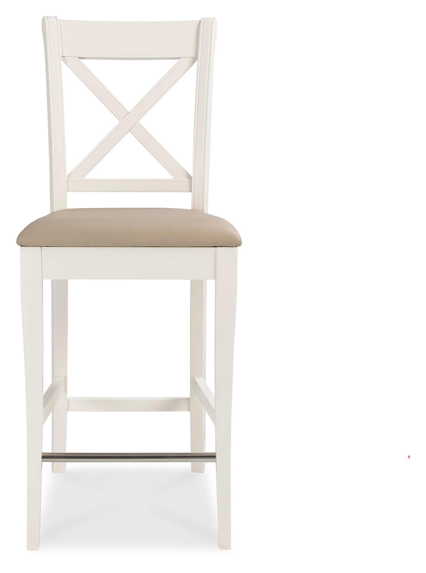 KYRA X-BACK STOOL - FRONT DETAIL