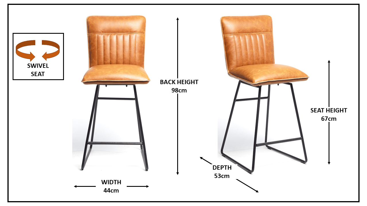 METRO TAN BAR STOOL
