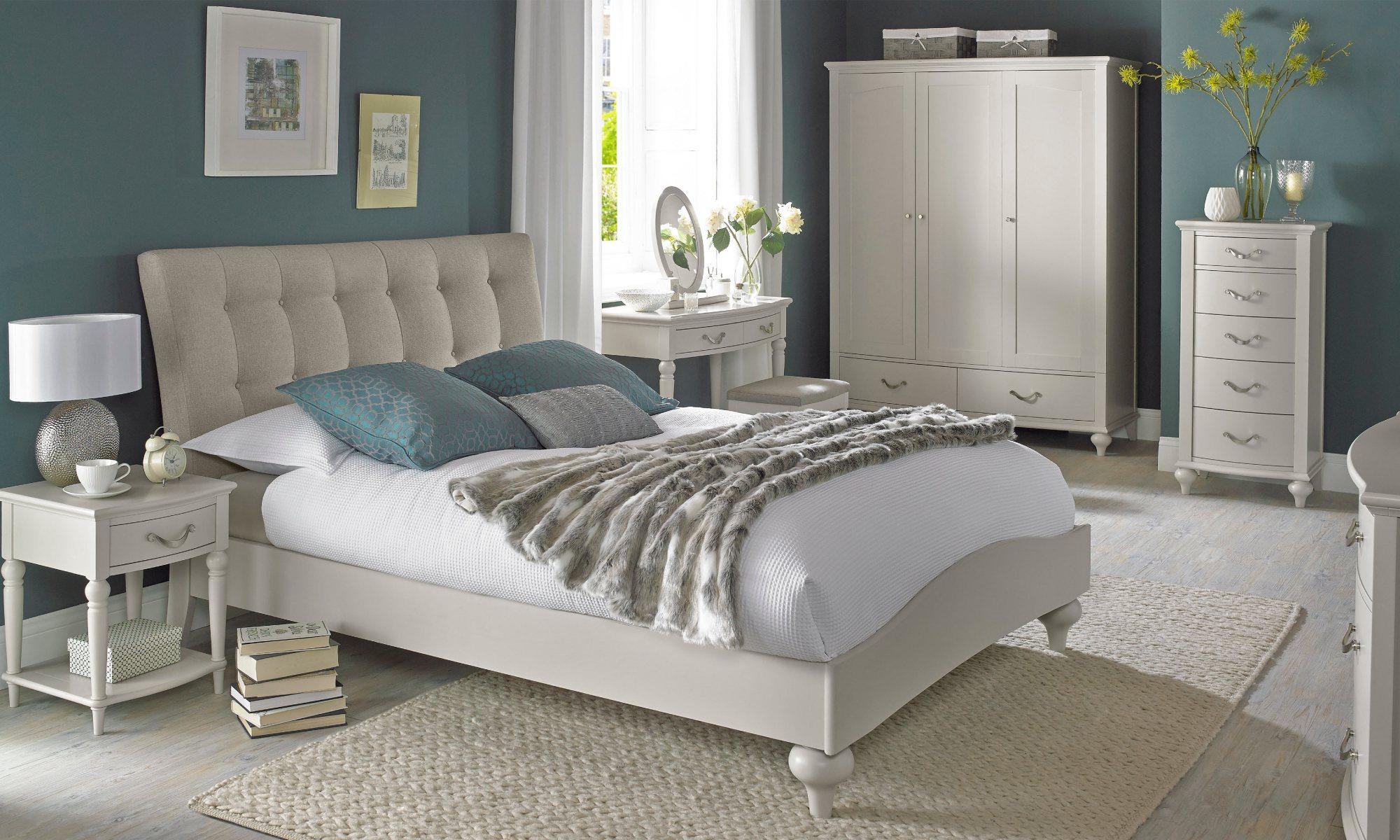 MONICA GREY BEDROOM