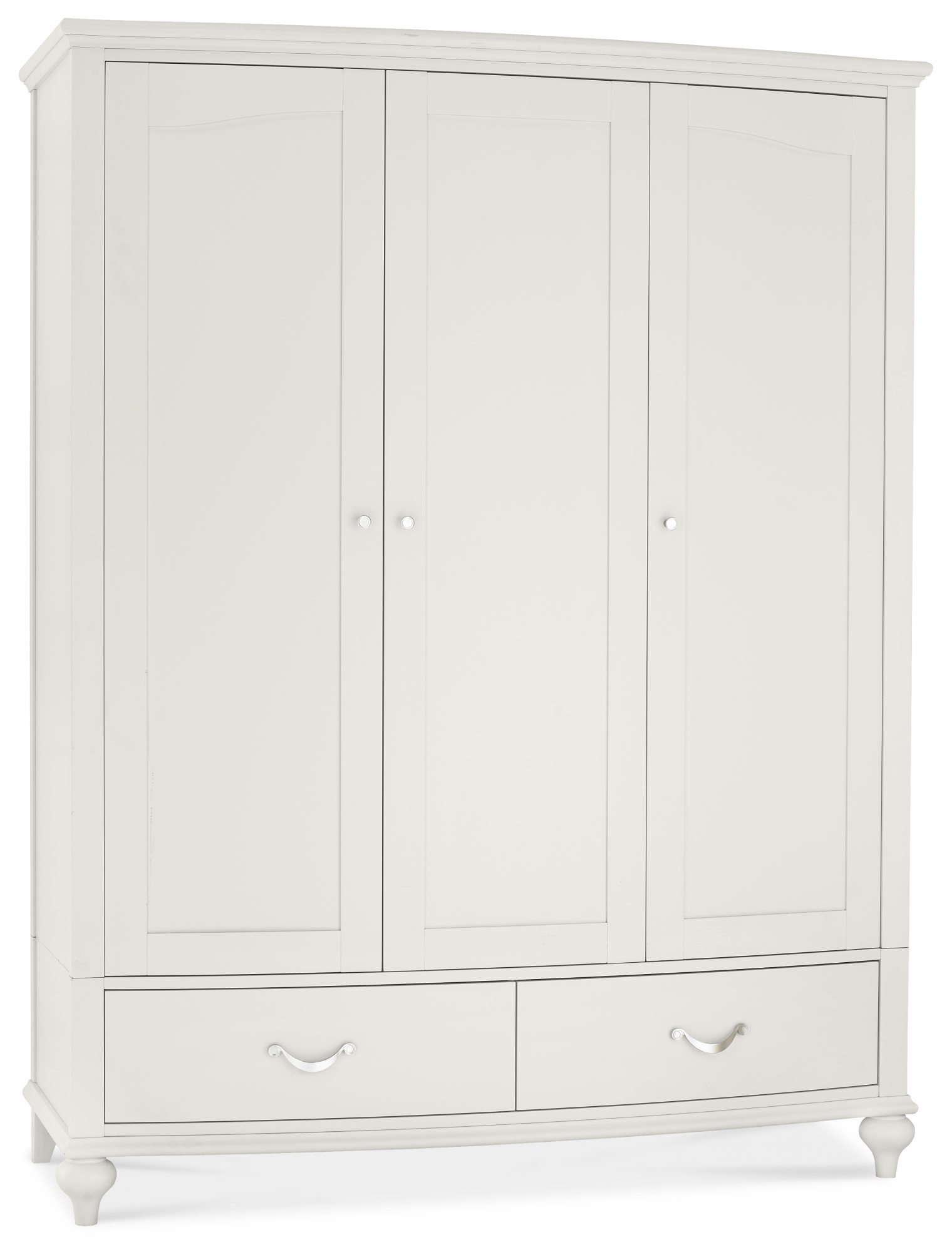 MONICA GREY TRIPLE WARDROBE - ANGLE DETAIL