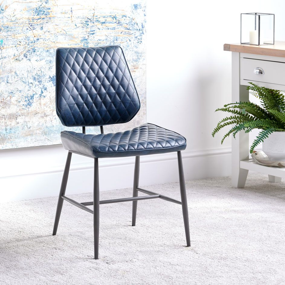 NEMOX BLUE DINING CHAIR