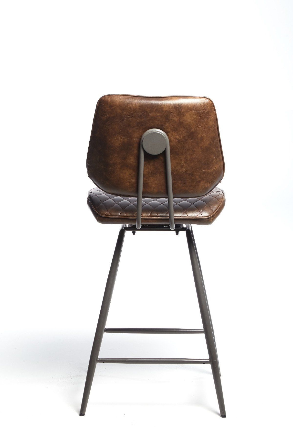 NEMOX BROWN STOOL - BACK DETAIL
