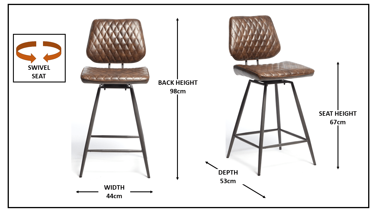 NEMOX BROWN STOOLS