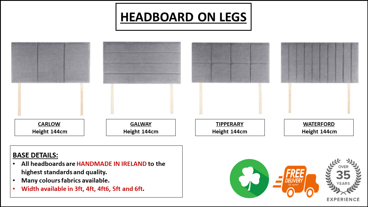 NEW STANDARD LEG HEABOARD OPTIONS