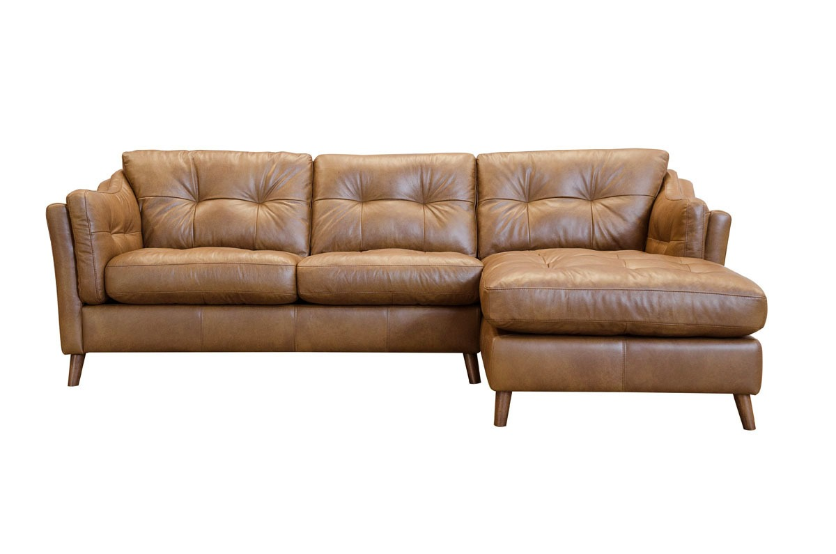 SADDLER CHAISE SOFA..