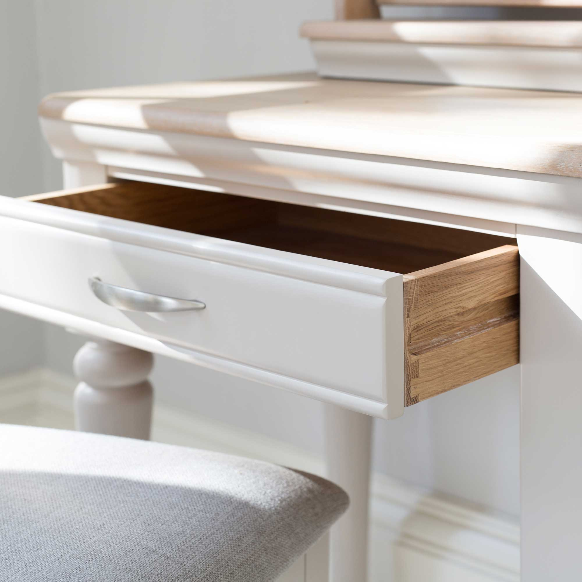 TONI DRESSING TABLE - DRAWER DETAIL