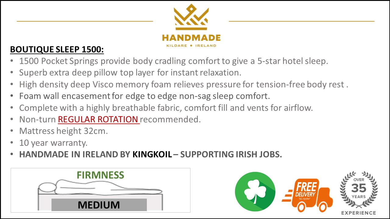 new boutique 1500 mattress