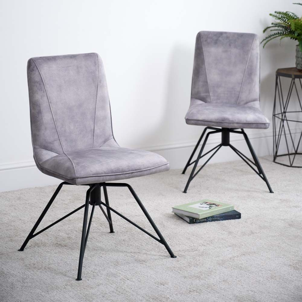 LOTTI GREY CHAIR