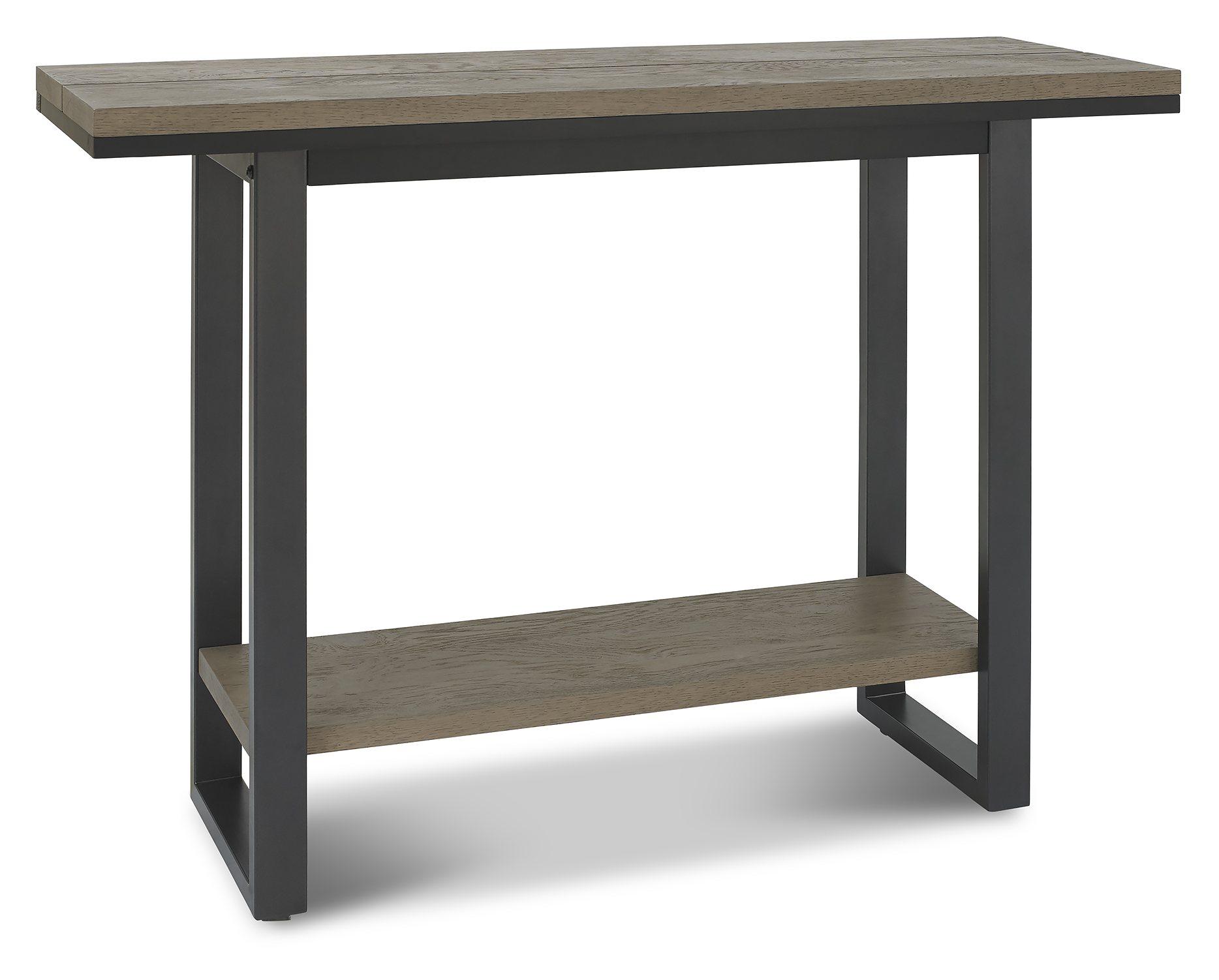 BRIMDISI - CONSOLE TABLE ANGLE VIEW